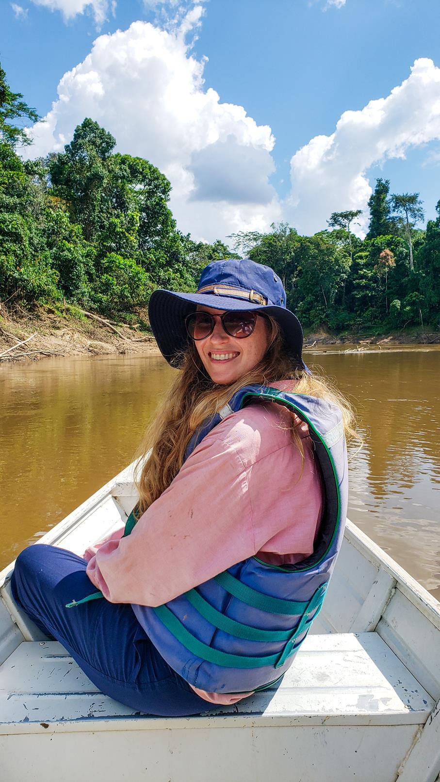 Vissen Amazone gebied Colombia